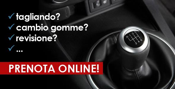 Non perdere tempo, prenota l'appuntamento per la tua auto online