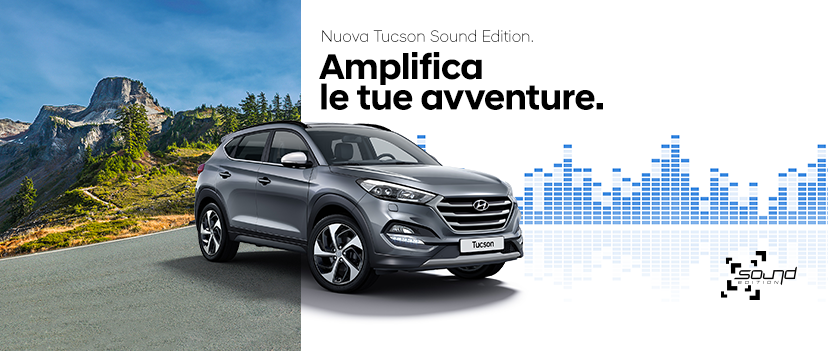 Offerta Speciale Tucson Sound Edition