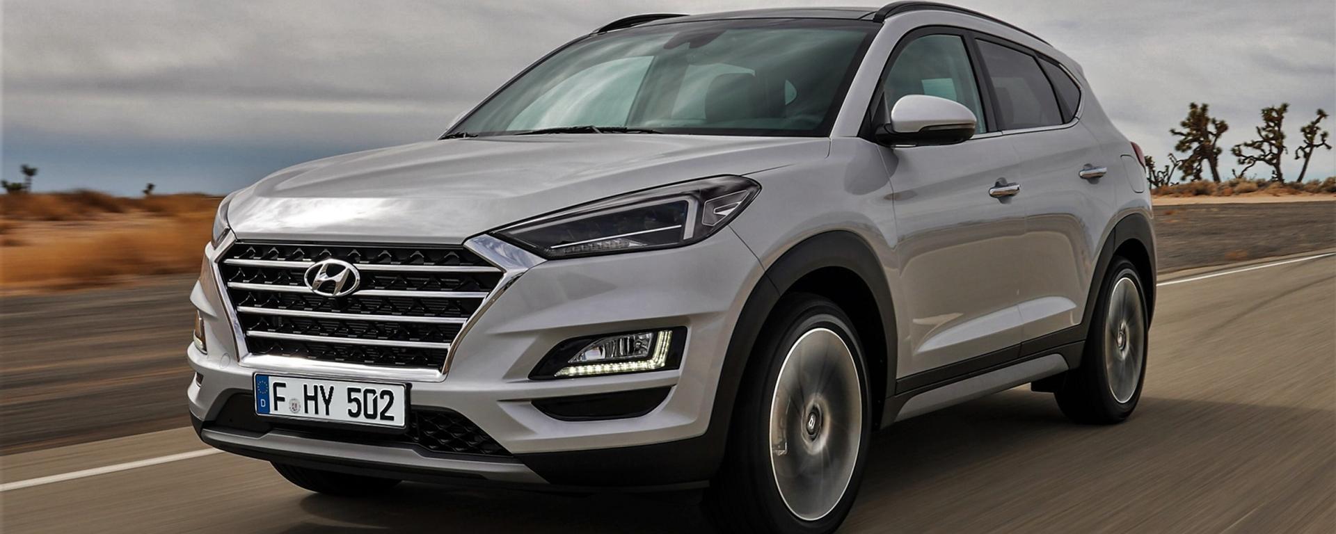 Nuovo Hyundai Tucson tuo a 17.550€