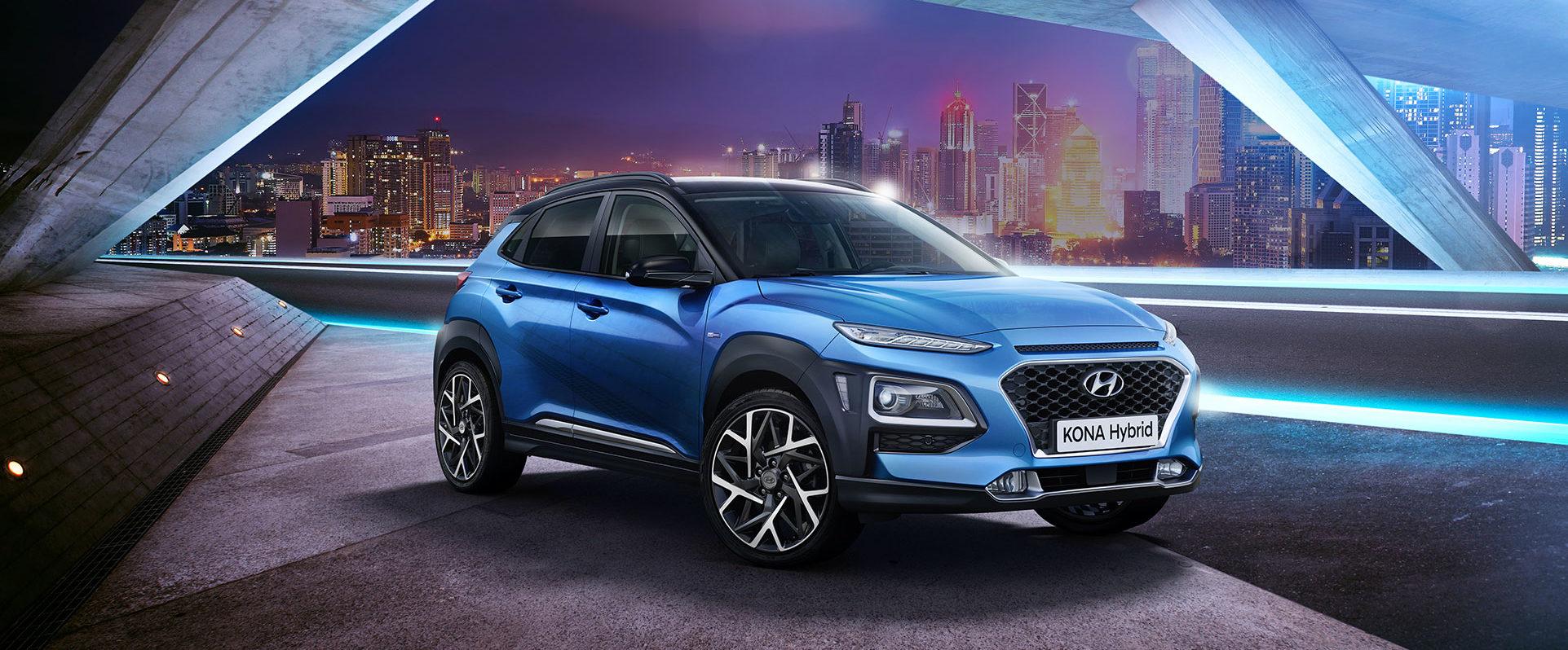 Hyundai Kona Hybrid tua a 19.325€ con VANTAGGI ROTTAMAZIONE