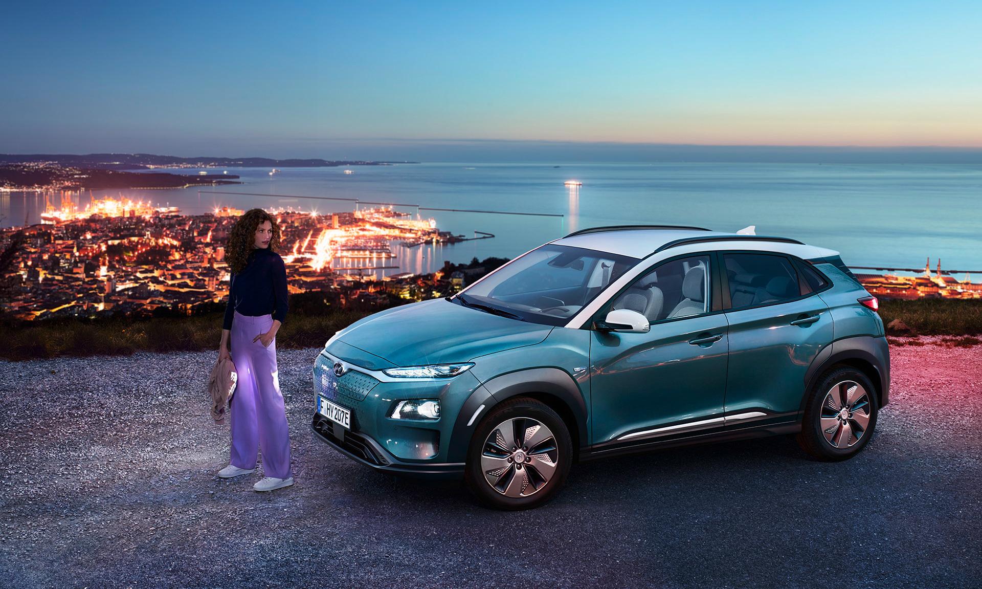 Hyundai Kona elettrica tua da 24.650€ con VANTAGGI ROTTAMAZIONE